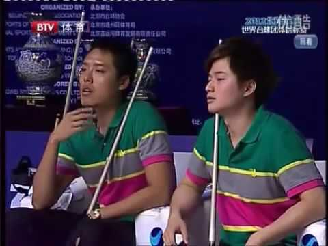 Chinese Taipei - Japan | 8-ball Doubles | World Pool Team Championship 2012 Final