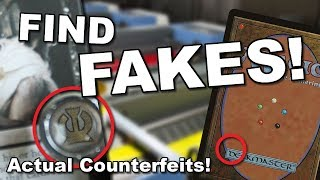 5 TESTS TO FIND COUNTERFEITS! Real Card Examples to Learn How!