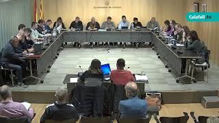 Sessió plenària ordinària, 3 de desembre de 2018