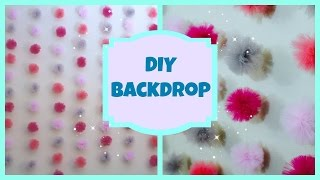 DIY Tulle Backdrop!
