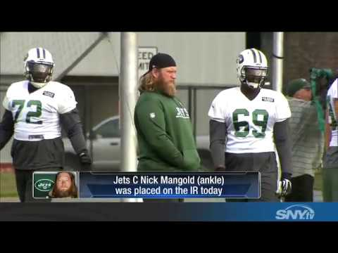 Has Nick Mangold played his last game for the New York Jets?
