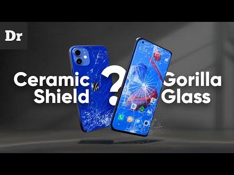 Что такое Gorilla Glass и Ceramic Shield?