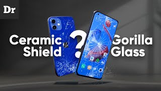 Что такое Gorilla Glass и Ceramic Shield?