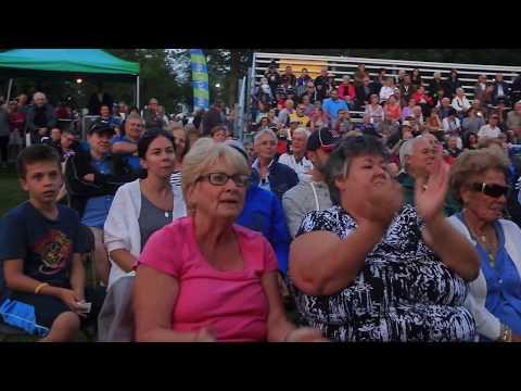 Walter Ostanek at the Winona Peach Festival - 25 August 2017