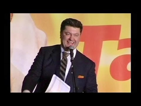 Ukraine's Poroshenko, from chocolate to nation-building