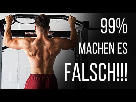 Deshalb WÄCHST dein Rücken NICHT! Klimmzüge - Was 99% FALSCH machen!