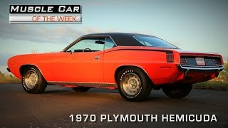 Muscle Car Of The Week Video Episode #94: 1970 Plymouth 426 HemiCuda