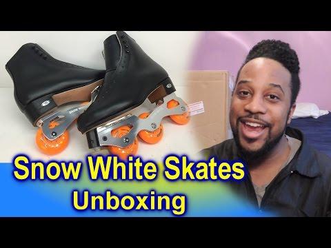 #532 -Snow White Artistic Inline Skates Unboxing