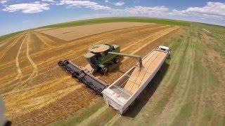 Hediger Farms 2015. Plowing, seeding, harvest, christmas trees