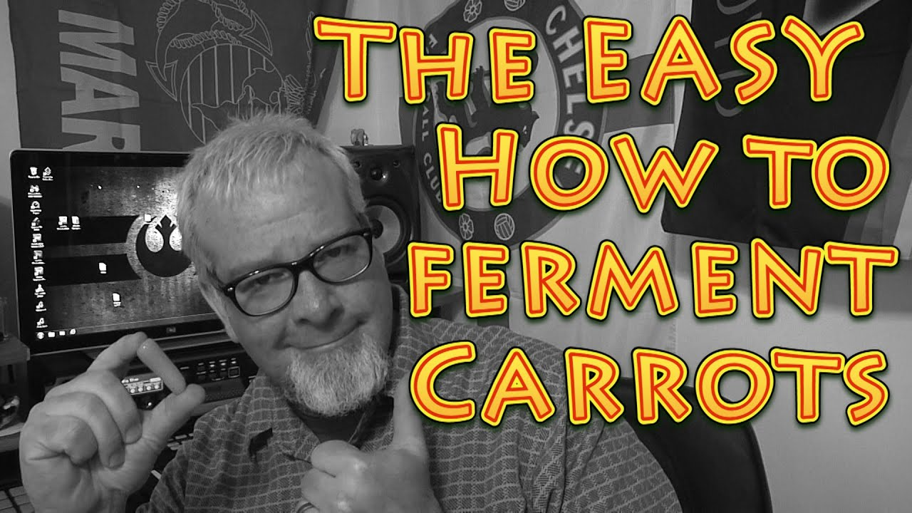 How To Ferment Carrots