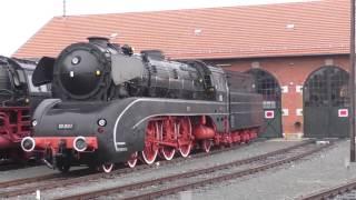 Revival Schiefe Ebene mit 01 1066 nach Neuenmarkt Wirsberg 05.11.2016 Teil 1