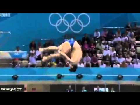 VIDEO Olympic 2012 diving fail Stephan Feck Diving