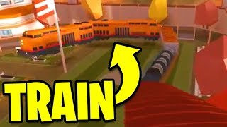 ASIMO3089 HACKS JAILBREAK TRAIN!! (Roblox Jailbreak)