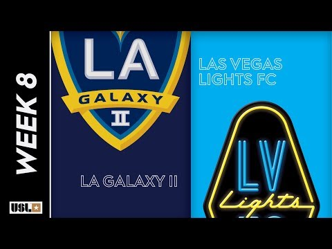 LA Galaxy II vs. Las Vegas Lights FC: April 29th, 2019