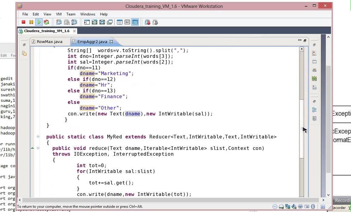 mapreduce(hadoop ) program end-to-end explanation suman tutorial