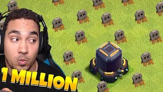 """1 MILLION LOOT GRAB!! """"Clash Of Clans"""" PUSH to LEGENDS!!"""