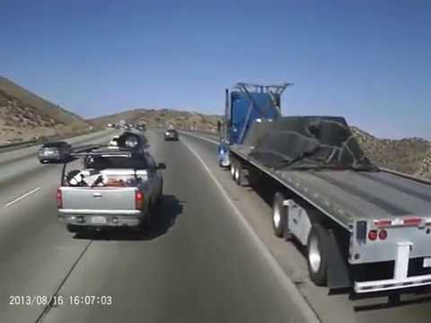 Dash cam insurance fraud! car crash