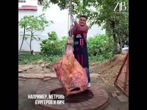 Турок прославился на весь мир едой!
