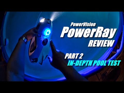 2018 Underwater Drone PowerVision PowerRay 4K ROV Review - Part 2 - [Detailed Pool Test]