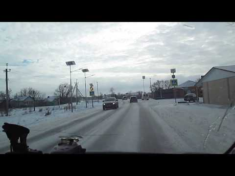 Зимняя дорога Ставрополь-Невинномысск( через Барсуки)-4