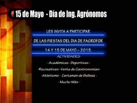 SOPT TV - FAGROFOR - ANIVERSARIO  - BICU-CIUM   14 y 15 DE MAYO - 2015