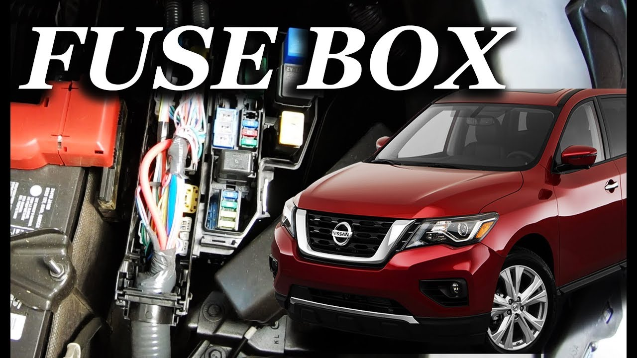 Fuse Box Location On A 2015 2018 Nissan Murano Youtube