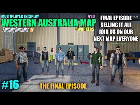 Map Of Australia Youtube.Fs19 Western Australia Map V1 0 Multiplayer Letsplay Part 15 Youtube