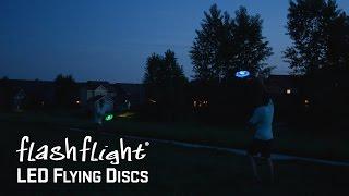 FlashFlight LED Flying Disc