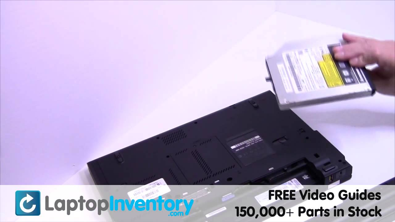 IBM Lenovo T420 T410 DVD CD Replacement Thinkpad | CD-RW DVD-RW Laptop  Install Guide, Replace