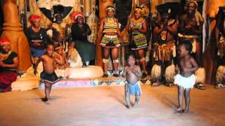 Amazing Zulu Dance Show in Shakaland, Kwazulu-Natal, South Africa