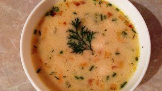 Сырный сливочный суп с фрикадельками - рецепт приготовления