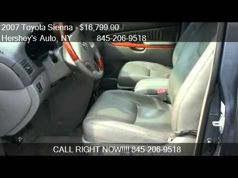 2007 toyota sienna xle limited awd for sale in monroe ny youtube. Black Bedroom Furniture Sets. Home Design Ideas