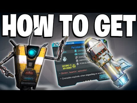 BL3: How To ONE HIT EVERYTHING - OP Pipe Bomb FULL GUIDE - How To Get Porcelain Pipebomb EASY