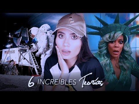 6 INCREBLES TEORAS CONSPIRATIVAS! - Paulettee