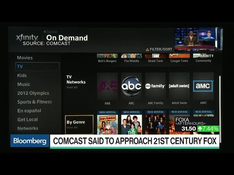 Comcast Said to Express Interest in Fox Assets