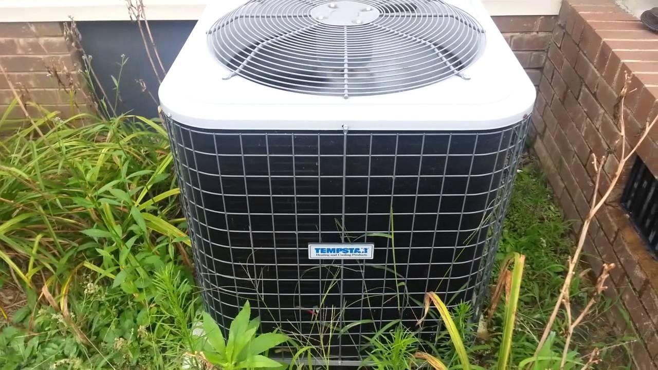 The 2010 4 Ton Tempstar Heat Pump Running In Cool Mode 8 1 14