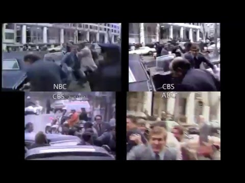Attempted assassination of Ronald Reagan - Multiple Camera Views (2016)