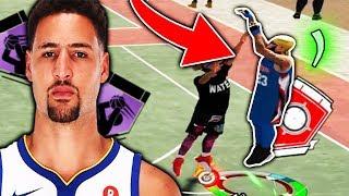KLAY THOMPSON CHALLENGE CATCH & SH00T ONLY 💦 NBA 2K19