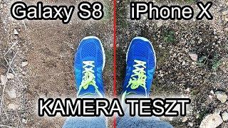 Kamera Teszt - iPhone X vs Galaxy S8