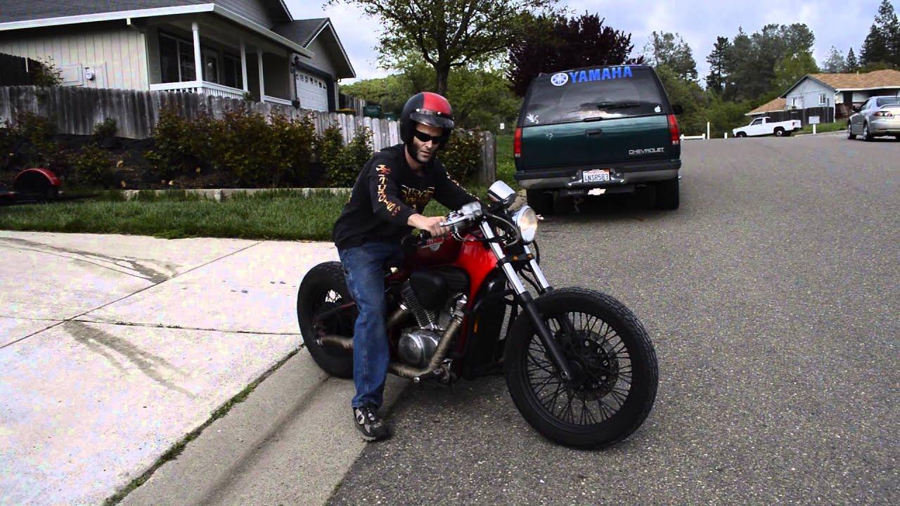 92 Honda Shadow Bobber - Video 1 - YouTube