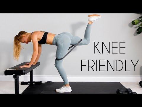 10 MIN LEG/BOOTY WORKOUT (No Squats + Knee Friendly)