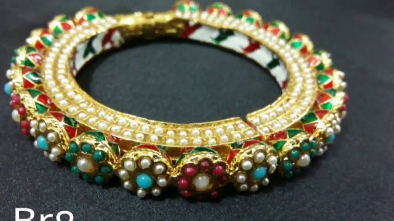 Latest Bengal Designs 2016 - Most beautiful designs of Kada - YouTube