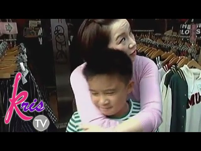 "Kris TV: Kris to Bimby: ""You should like who your mom likes"""