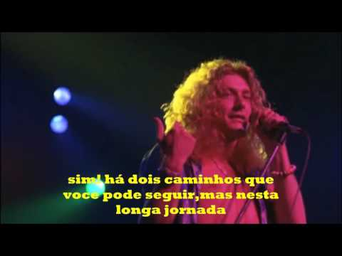 Led Zeppelin stairway to heaven tradução