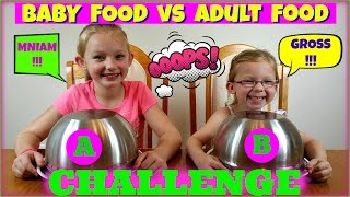 Video BABY FOOD vs ADULT FOOD CHALLENGE - Magic Box Toys Collector download MP3, 3GP, MP4, WEBM, AVI, FLV Oktober 2017