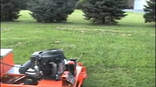 the beast 100 tow behind mower by dek gxi outdoor power equipment