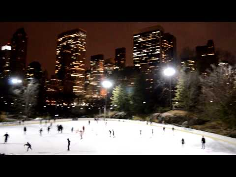 Central Park - Wollman Rink At Night / February 2013 HD