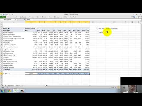 Excel Dynamic Chart - Hide/Unhide series by controlling check box