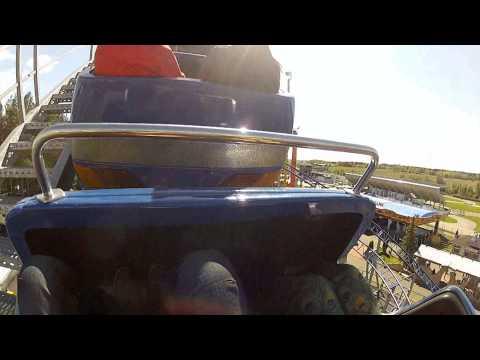 Powerpark - Joyride roller coaster  POV ride