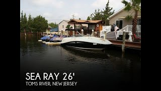 Used 2009 Sea Ray 260 Sun Deck for sale in Toms River, New Jersey